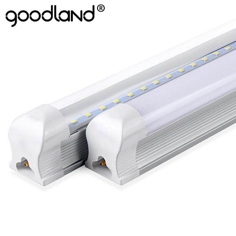 Goodland Led-lampe Rohr T8 600mm 2ft LED Leuchtstoffröhre 10 watt LED Integrierte Rohr 220 v 240 v led-leuchten Lampe Beleuchtung Klar/Milchig Abdeckung