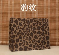 15 Color Fashion Hand Length Handle Paper Bag ,26x33x12cm