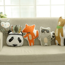 The new INS font b plush b font toys soldiers bears raccoons foxes twill children sleep