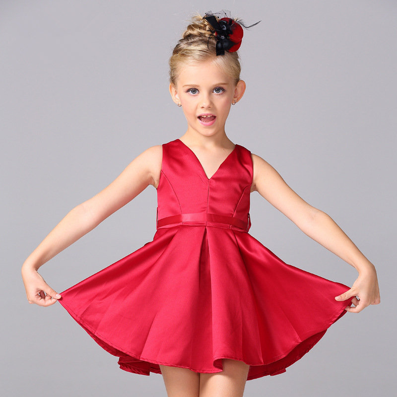 Girls Dress Summer 2017 Brand Children Clothing Kids Dresses for Princess Holiday Party Wedding Toddler Clothes Christmas
