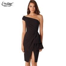 платье женские платья Женщины одеваются 2016 Bodycon платья Eliacher марка Большой размер вечернее ну вечеринку платья vestidos