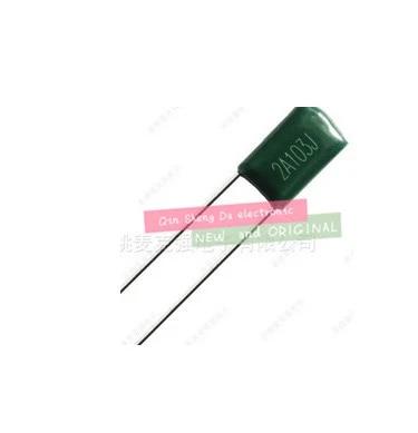 Metal Film Capacitor 103//100v 10nF-100V J P=5mm 10pcs