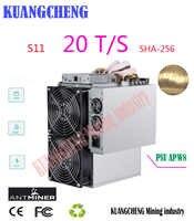 new BITMAIN AntMiner S11 20T BCH BTC SHA-256 Miner Better Than S9 S9j S15 T15 Z9 Mini T9+ WhatsMiner M10 M3 M3X