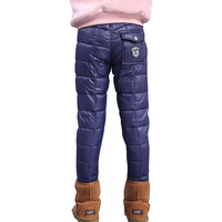 2017 New Kids Winter Pants Cotton Fashion Warm Trousers for Boys Girls Children Winter Casual Outwear Pants