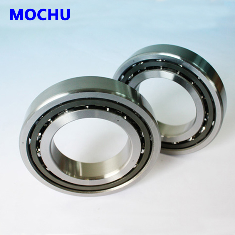 1 pair MOCHU 7207 7207C B7207C T P4 DT 35x72x17 Angular Contact Bearings Speed Spindle Bearings CNC DT Configuration ABEC-7 1pcs mochu 7207 7207c b7207c t p4 ul 35x72x17 angular contact bearings speed spindle bearings cnc abec 7