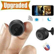 Mini cámara, cámara de seguridad doméstica WiFi, visión nocturna 1080P cámara de vigilancia inalámbrica, aplicación de teléfono con Monitor remoto