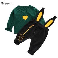 0 2 Years Baby Boy Suit 2018 Spring Casual Children Clothing Sets Top T Shirt Pants