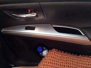 Image 5 - Per Suzuki SX4 S Cross 2014 2015 2016 2017 2018 2019 Chrome interni maniglia bracciolo copertura Car Styling accessori adesivi