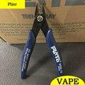Ecig DIY ferramenta PLATO Flush 170 torção do fio de Aquecimento aquecedor plato Cortador para Atomizadores Rebuildable rda jig bobina bobinas de fio pavios