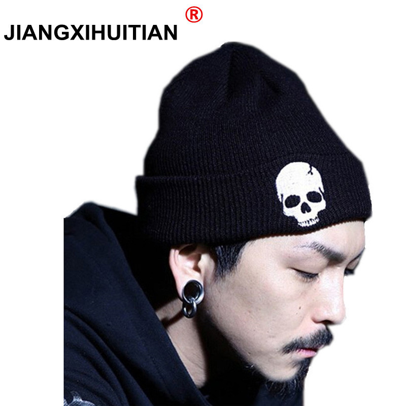 Skull   Beanies   Men's Hat Winter Hats For Men Women Winter Knit Hat Caps Brand Bonnet   Skullies   Warm Balaclava Cap   Beanie   New 2018