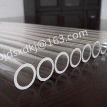 Кварцевая фурансная трубка/OD* L = 60*50*50 мм/высокая температура/прозрачная кварцевая трубка высокой чистоты
