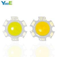 YooE 50Pcs Lots LED COB Lamps Chip 3W Fit For DIY LED SMD Lights Floodlight Spotlight
