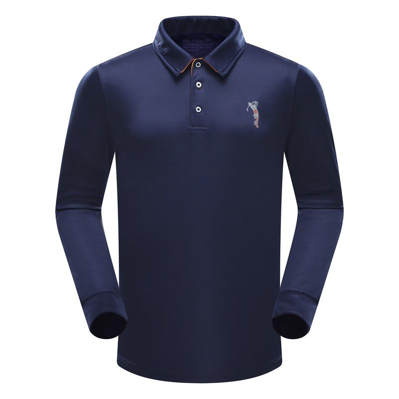 Brand new polo men golf polo shirts spring autumn long for Polo brand polo shirts