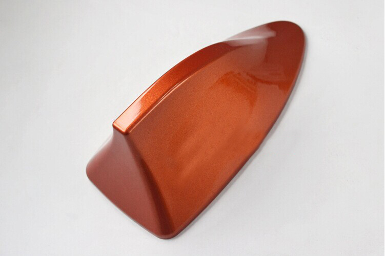 Orange Accessories Auto Car Modifiction Conversion Shark Fin Antenna Aerials With AM FM Radio Signal For Aerials Free Shipping