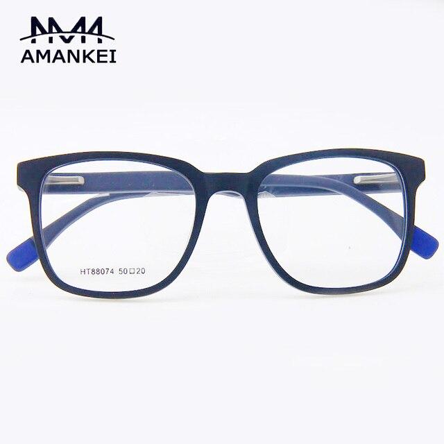 b652c804fd Marca de Moda Montura de gafas Marco de Las Lentes ópticas para mujeres  Hombres Acetato de