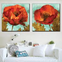 Number Two Couplet Flowers Sitting Room Adornment Of Modern Wall Paint Porch Hang A New Box