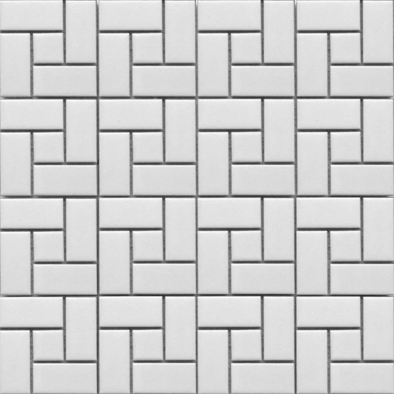 11 Square Feet Black And White Brick Ceramic Mosaic Tile Kitchen Backsplash Bathroom Wall Shower Hallway Fireplace Border Tiles White Brick Brick Tilemosaic Wall Tiles Kitchen Aliexpress