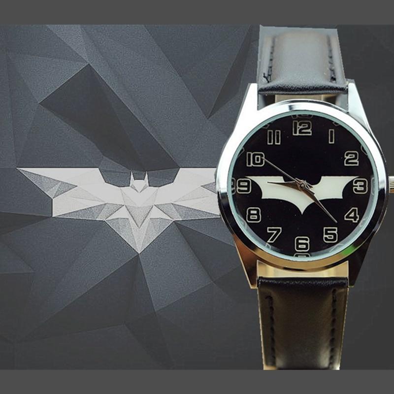 Ot01 Hot Children Watch Kids Cartoon Batman Wristwatch Cool Rubber Table Watches For Children Boy Girls