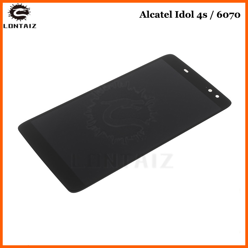 For 5.5Alcatel Idol 4S OT6070 6070k 6070y 6070 LCD Display Digitizer Screen Touch Glass AssemblyFor 5.5Alcatel Idol 4S OT6070 6070k 6070y 6070 LCD Display Digitizer Screen Touch Glass Assembly