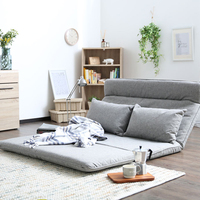 Ship By EMS Modern Lazy Sofa Floor Sofa In Yellow Color 4 Color Available