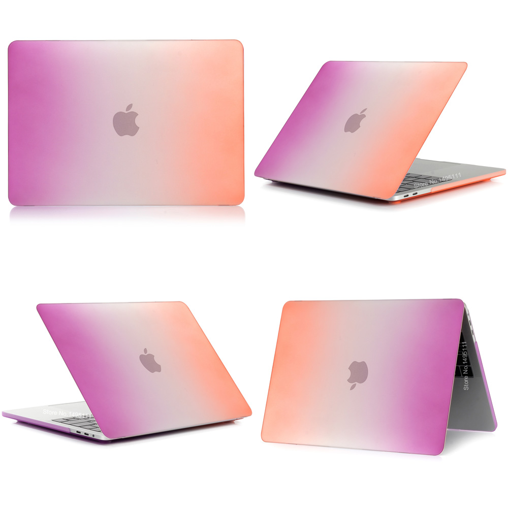 Градиент ноутбук корпусы Apple MacBook Air Pro - Ноутбуктердің аксессуарлары - фото 2