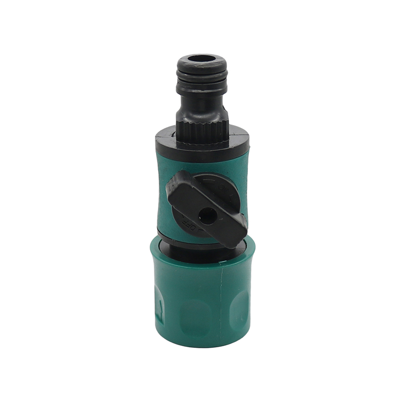 Plastic Valve with Quick Connector Agriculture Garden Watering Prolong Hose Irrigation Pipe Fittings Hose Adapter Switch 1 Pc 4