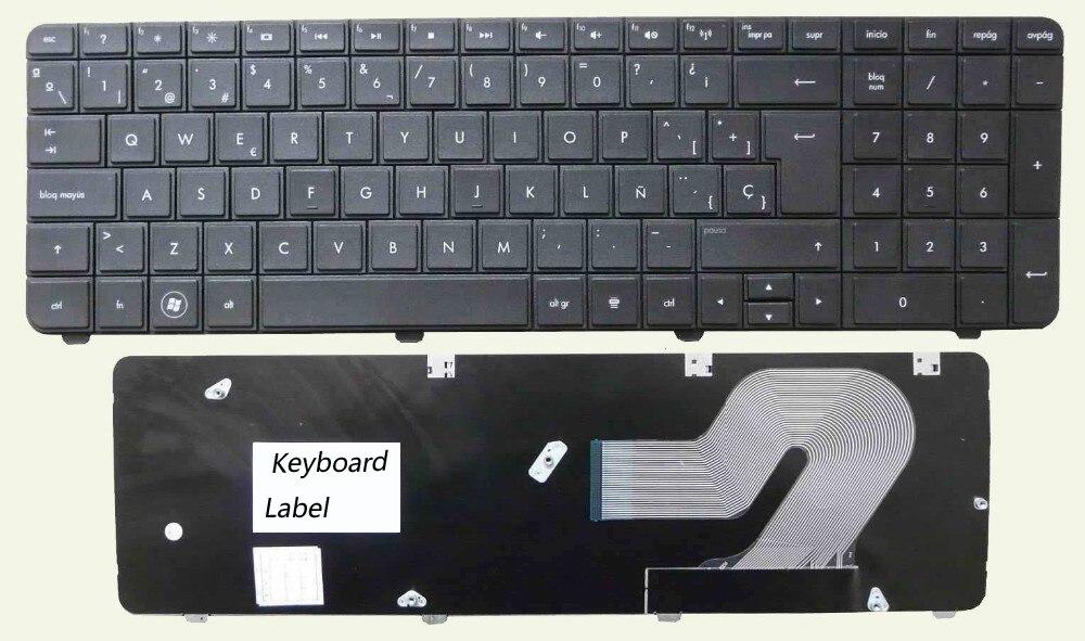 Clavier d'ordinateur portable pour HP G72 G72-B66US G72-B60US