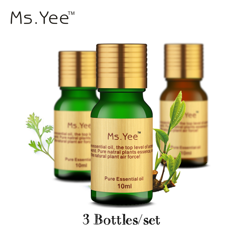 Top Natural Essential Oils Pack for Aromatherapy Spa Bath Massage (Rose Sandalwood Chamomile) Face Shoulder Foot Care Oil 10Ml*3