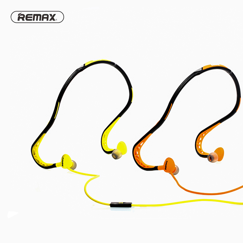 REMAX RM S15 S15 1 2M Wired Neckband Sports Earphone Headset For iphone 6 7 Mobile