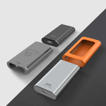 DM FS300 Solid State flash drive Portable 512GB High Speed pendrive Type C USB 3.1 Memory Stick External SSD 256GB