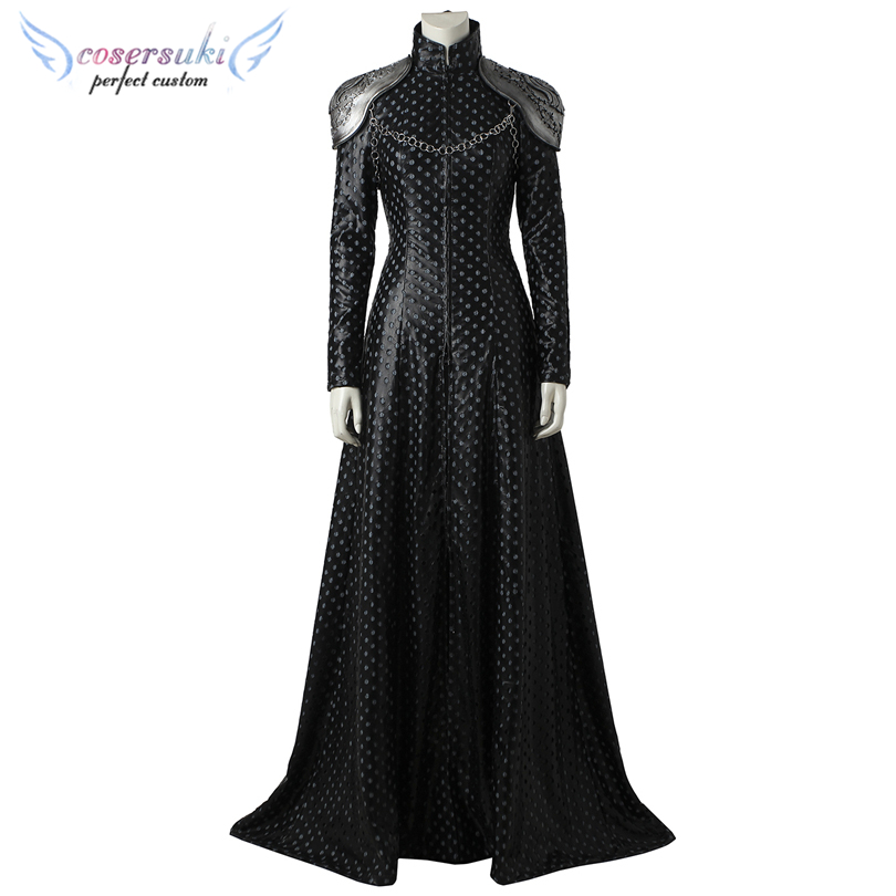 Game of Thrones Season 7 Cersei Lannister Cosplay Costumes Stage Performence Clothes ,Perfect Custom for you!