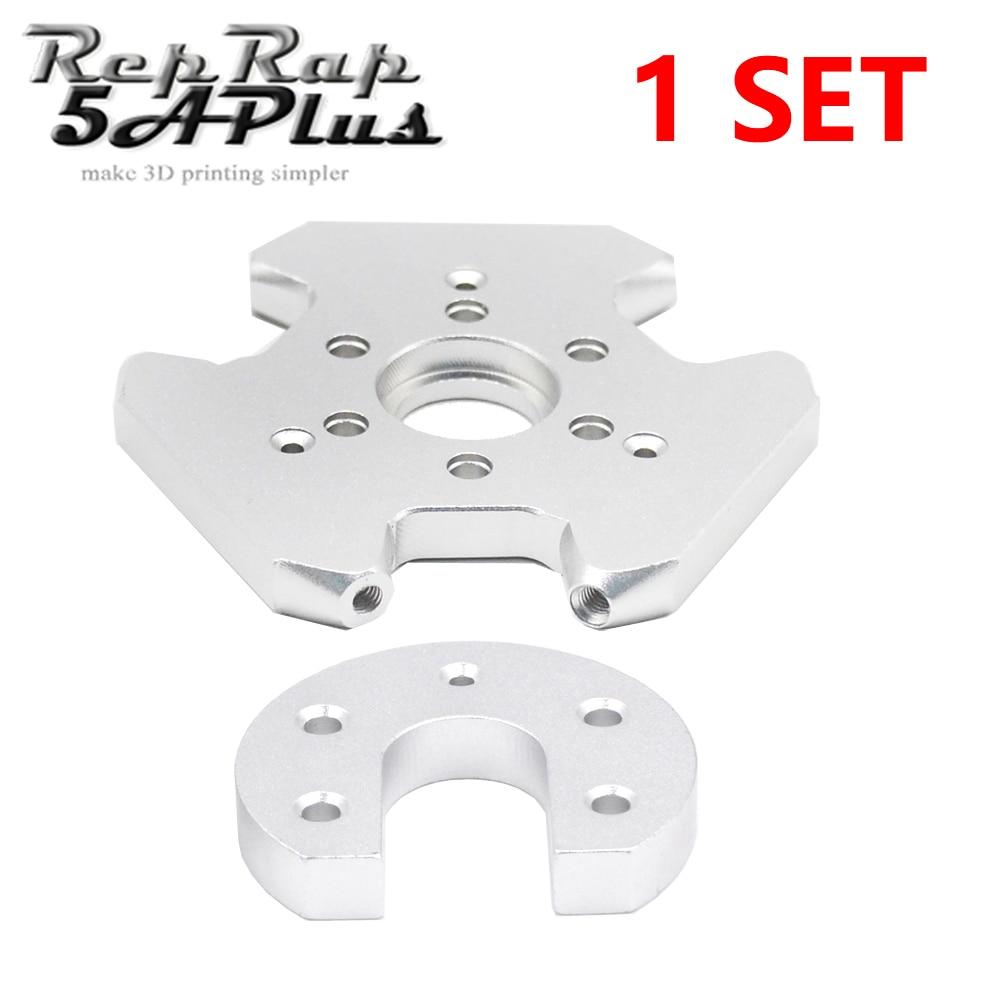 Support alu M3 pour J-head V6 delta kossel fisheye effector imprimante 3D