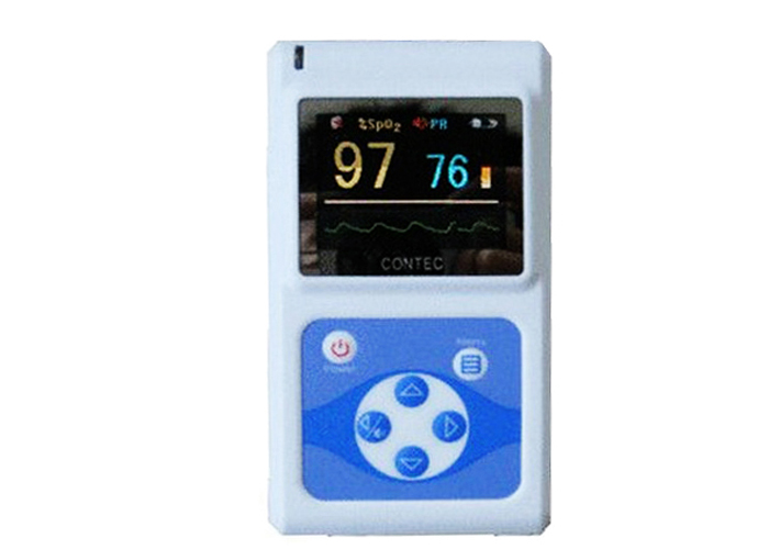 CONTEC SPO2 PR Monitor CMS60D Color OLED Screen Electronic Portable Handheld Pulse Oximeter + Software multifunction oximeter
