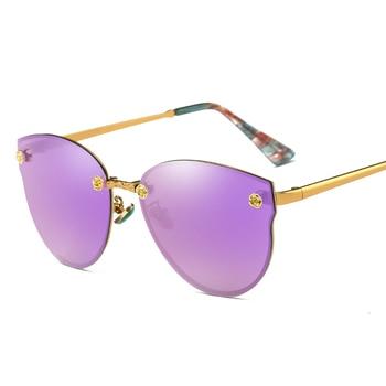 Gafas De Sol para Mujer 2018 Oculos De Sol femenino Lentes De Sol para Mujer  gafas De Sol Vintage Hombre Lentes Mujer Sol Kacamata Wanita Shades 47cdd0f22d