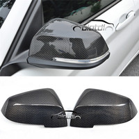 for BMW F30 2012 2017 F87 carbon fiber replacement rearview door side wing mirror cover caps OLOTDI