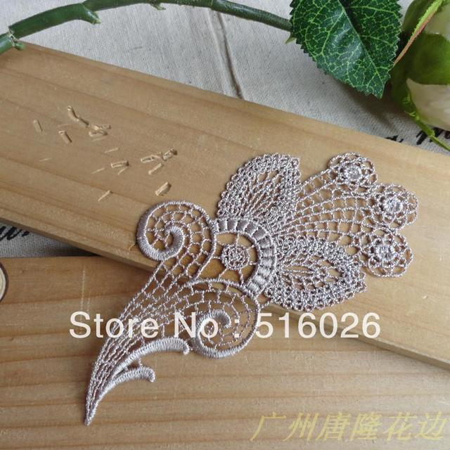New hot sale White Flower Lace Appliques For Decorations, Garment accessories,DIY appliques