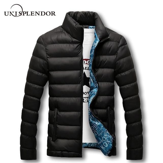 unisplendor Winter Men Jacket 2019 Brand Casual Mens Jackets And Coats  Thick Parka Men Outwear 4XL 79d0db83d939