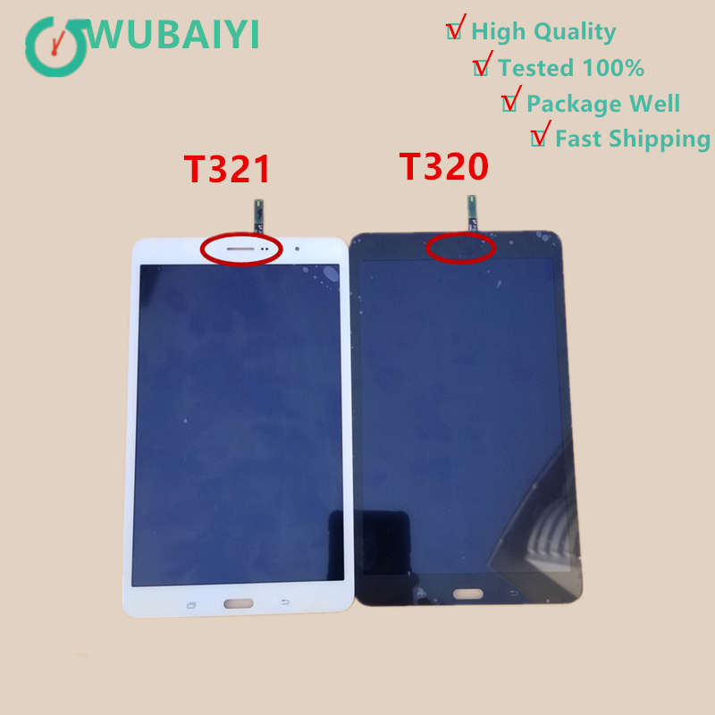For Samsung Galaxy Tab Pro 8.4 T320 SM-T320 T321 T325 Touch Screen Digitizer Glass Sensor+LCD Display Panel Monitor Assembly new for samsung galaxy tab pro sm t320 t321 t325 lcd display touch screen digitizer sensors assembly panel replacement