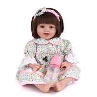 NPKDOLL 55 CM Reborn Dolls Baby Lifelike Doll Reborn Handmade Silicone Reborn Baby Dolls Kids Christmas Gifts Dolls For Girls