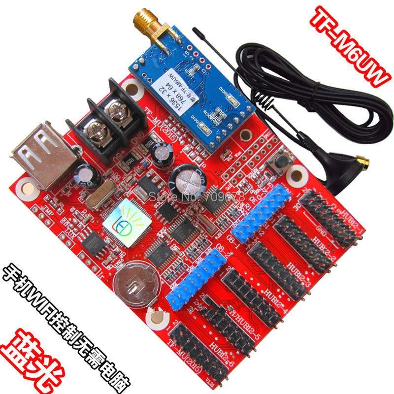 LongGreat TF-M6UW WIFI Wireless & USB Driver LED Display Control Card