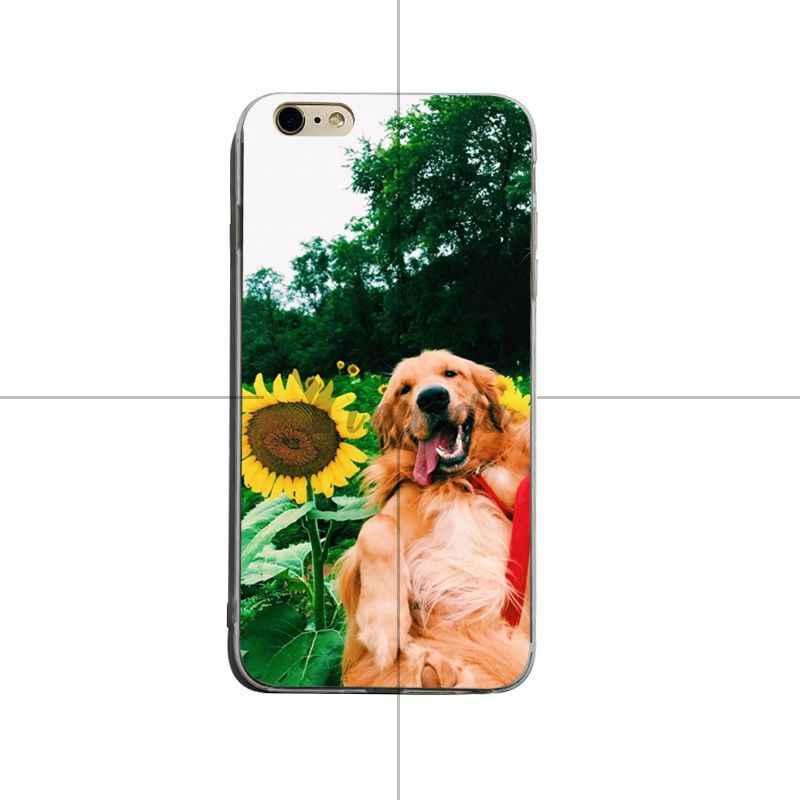 Yinuoda Siêu dễ thương Tha Mồi Vàng 2018 Màu Vẽ mềm tpu Trường Hợp điện thoại Cho iPhone 8 8 cộng với 7 7 cộng với 6 s 6 sPlus XSMax X XS XR