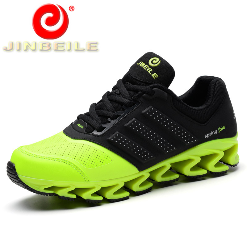 JINBEILE New 2018 Men's Sneakers Durable Breathable Men Running Shoes Unique Design Free Shipping Outdoor Sport Shoes Men camel shoes 2016 women outdoor running shoes new design sport shoes a61397620