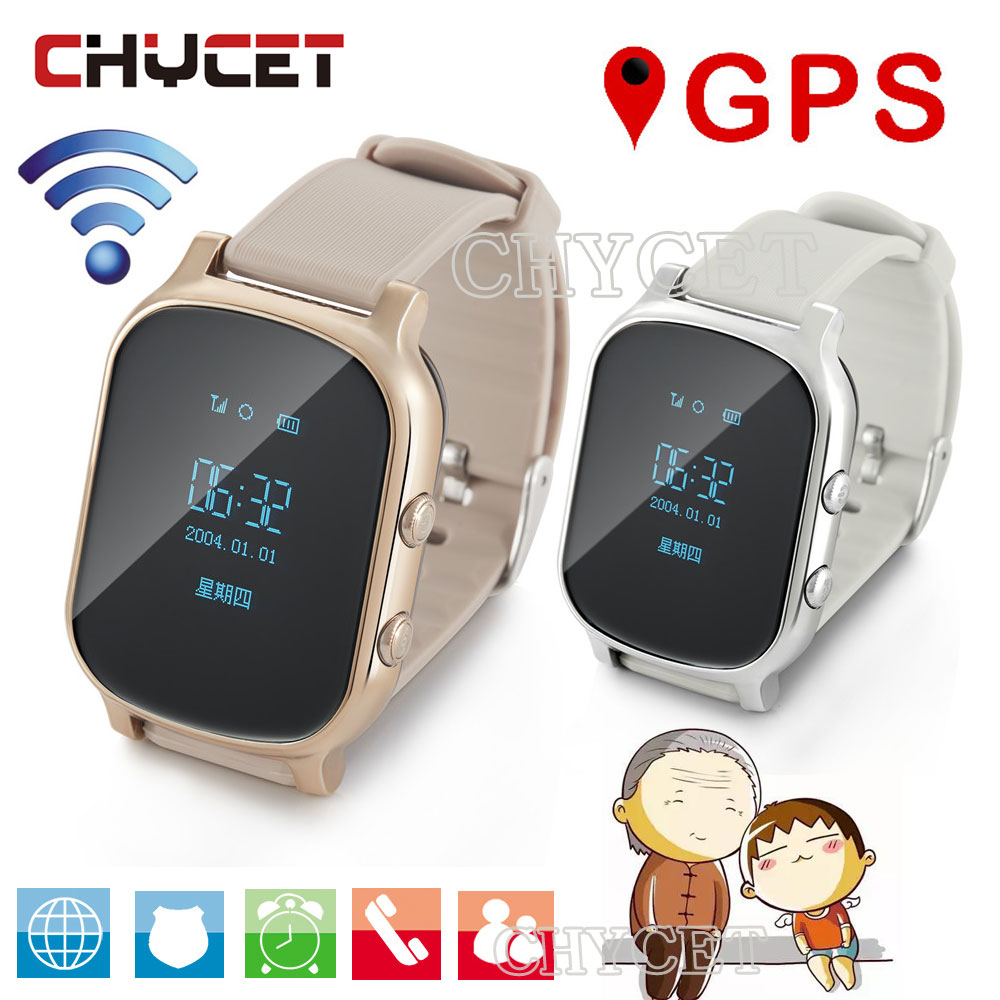 T58 GPS Smart Watch Hours for Kids Children Adult Smartwatch Tracker Clock For android IOS Support SIM Card Answer Call Push SMS smart watch t58 with glass films gps smart watch support sim card gps finder wearable activity tracker for children adults