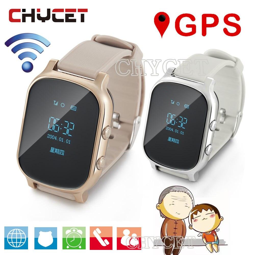 T58 GPS Смарт-часы часов для детей Взрослые SmartWatch трекер часы для Android IOS Поддержка sim-карты ответ на вызов push sms