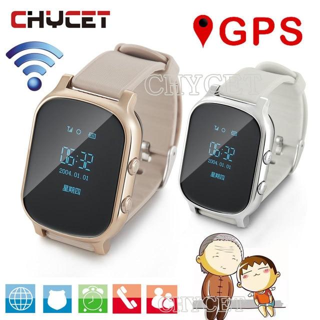 281c70bd246b 3023.43 руб. 14% СКИДКА|T58 gps Смарт часы часов для детей Взрослые  Smartwatch трекер часы для ...