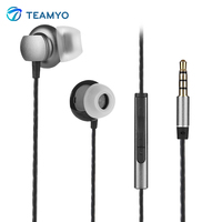 Teamyo MX1 Good Bass Stereo Earphone Wired Volume Control In Ear Earphones With Mic Headset 3