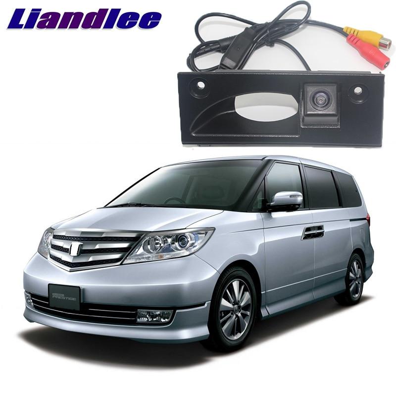 LiandLee Car Trunk Handle Rear View Reversing Parking Camera For Honda Elysion RR1-RR6 2004~2013