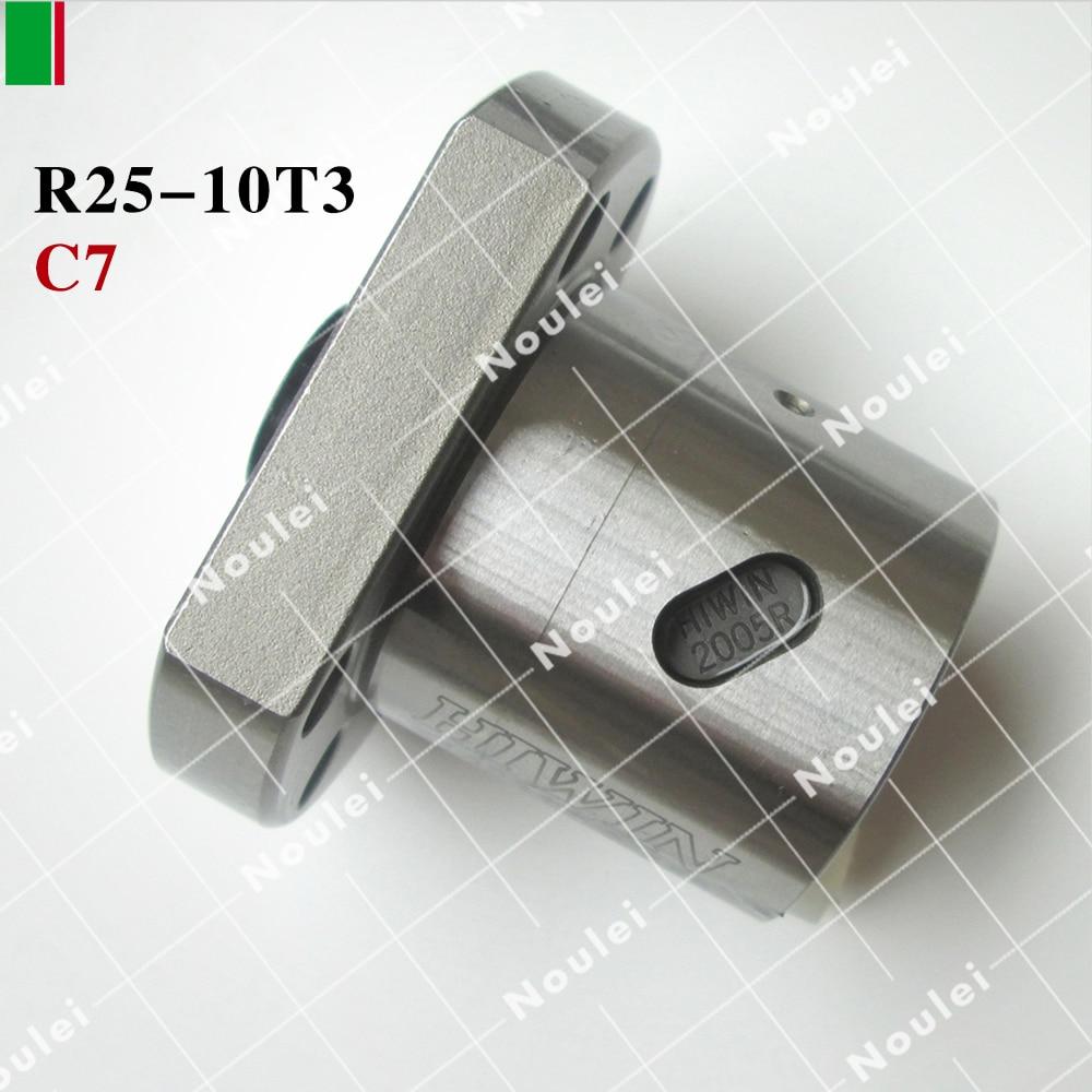 ФОТО Hot Sale HIWIN FSI R2510 C7 ball nut for ballscrew high stability CNC kit