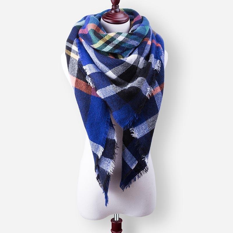 Бренд Evrfelan, шарфы, Прямая поставка, женский зимний шарф, высокое качество, плед, одеяло, шарф и шаль, большой размер, плотные шарфы, шали - Цвет: W24