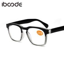 ce1ef0ac08 iboode Ultra-light Half Frame Folding Reading Glasses Flexible Unisex  Anti-fatigue Retro HMC